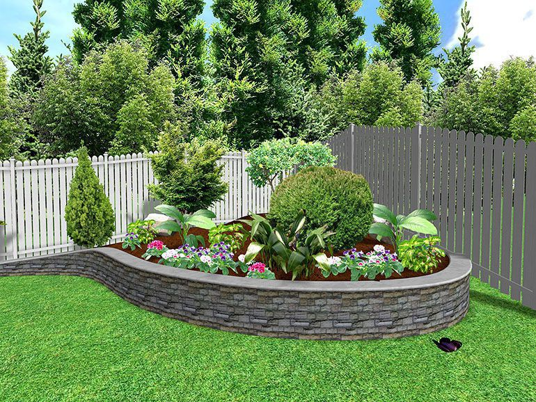 Raised garden design gardening forums for Round flower garden designs