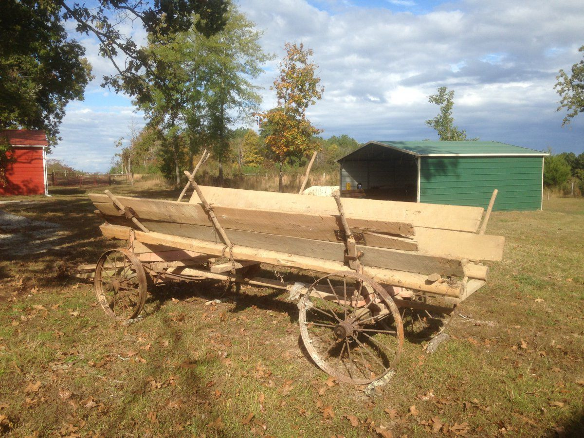 My latest project - an old wagon | Gardening Forums
