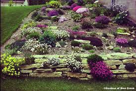 In Areas That Are Dry Or On A Slope Many People Will Switch To A Rock Garden.  When I Lived In California During A Dry Season This Is What People Did With  ...