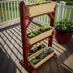 Plant Stand For Herb Garden Discussion Gardening Forums